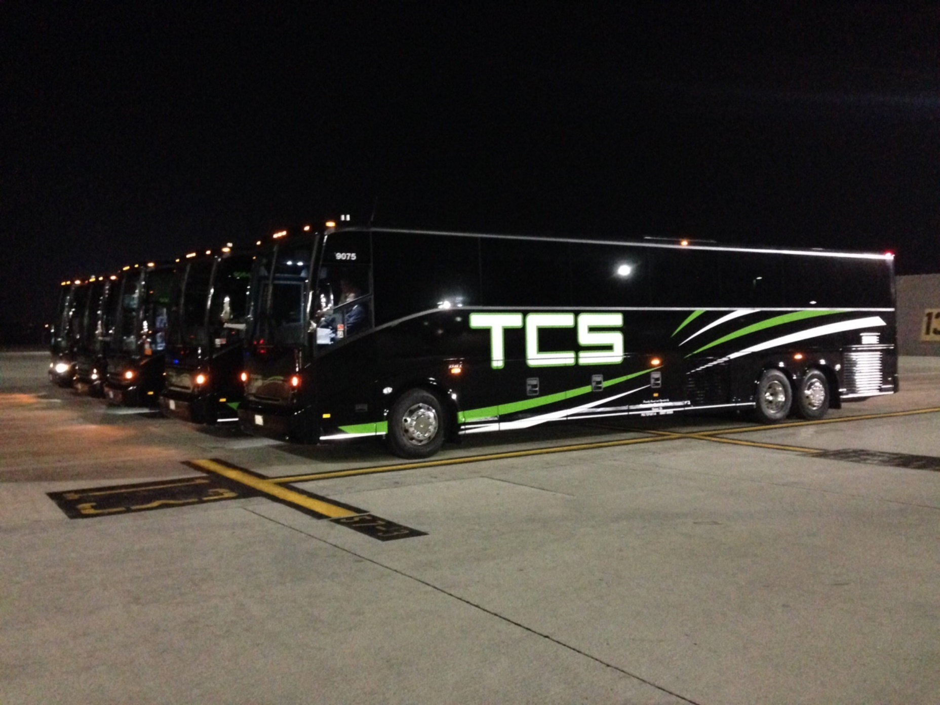 sports team charter bus