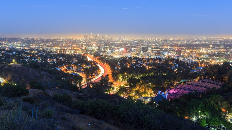 TCS - Charter Services - bus rental to the Hollywood Bowl